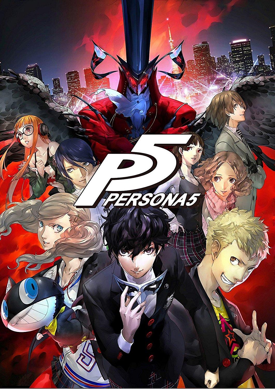 Persona 5 Cover art